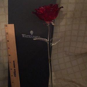Waterford Fleurology Red Rose